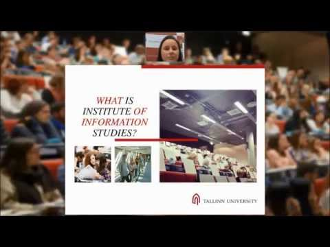 Webinar about Human-Computer Interaction MA and Digital Library Learning MA (2015)