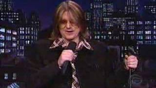 Mitch Hedburg - On Dave Letterman