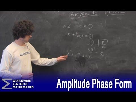 Amendment: Amplitude Phase Form - YouTube