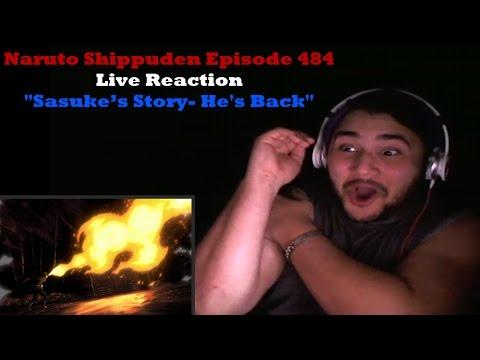 Naruto Shippuden Episode 484 Live Reaction