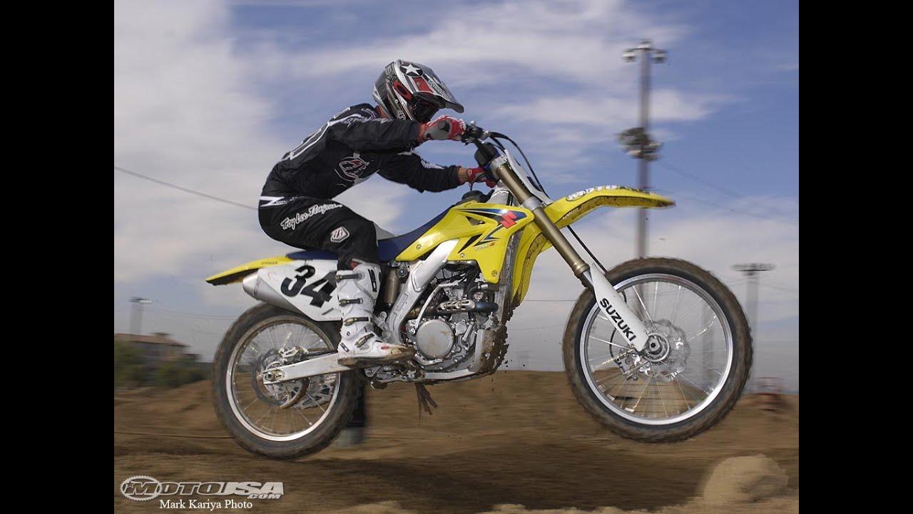 2008 Suzuki RM-Z250 First Ride - MotoUSA - YouTube