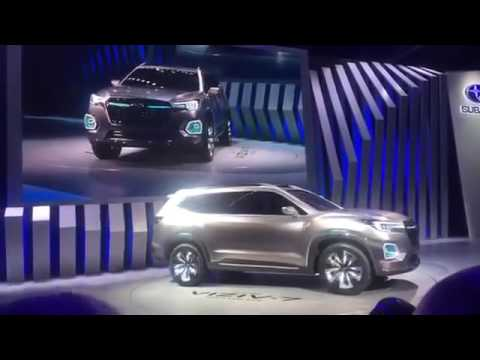 Subaru of America, Subaru Viziv 7 SUV concept revealed at LA motor show