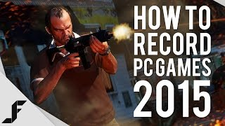 How to Record PC Games 2015 - No Lag + Multiple Audio!(A detailed and straight forward guide on how to record PC games without lag in 2015. I also show you how to split audio so you can record voice ..., 2015-07-21T23:33:10.000Z)