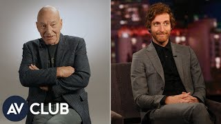 Patrick Stewart talks about his love for Thomas Middleditch