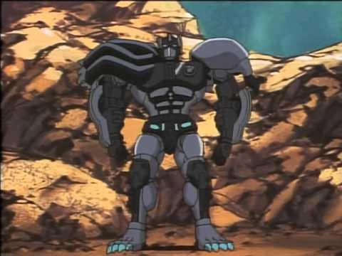 Beast Wars II   18   ENG SUBBED   Black Lio Convoy 黒いライオコンボイ