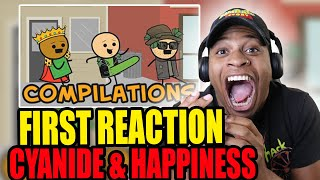 My First Time Watching Cyanide & Happiness Compilation  #1