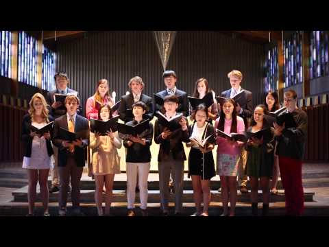 "Portsmouth Abbey School Schola sings ""Ubi Caritas"""