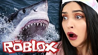LOOK AT THE SIZE OF THAT SHARK! Roblox