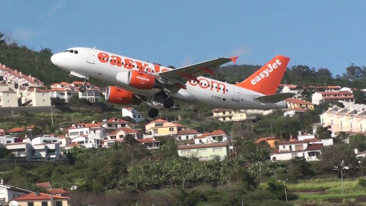 Easyjet Falhou Aterragem Na Madeira Aterrou A Segunda Tentativa