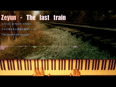심재윤Zeyun - The Last train (연주 영상)
