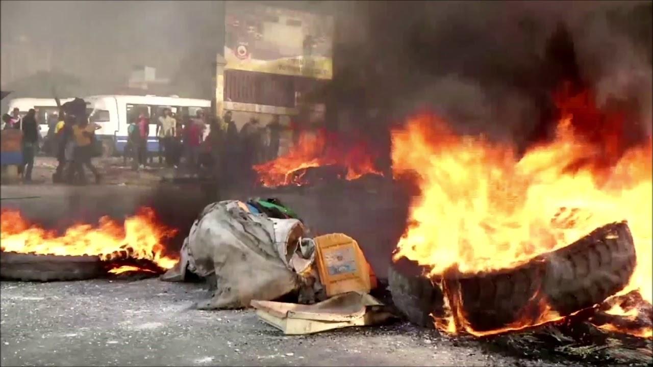 Violent Protests Erupt In Haiti Over Rising Gas Prices