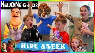 Hello Neighbor: Hide & Seek In Real Life! NEW GAME / Steel Kids