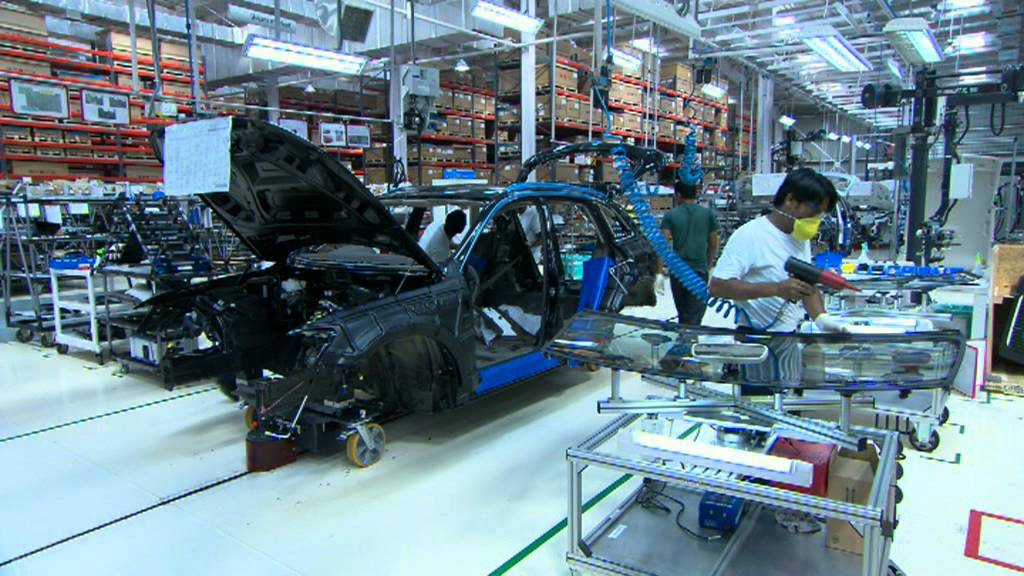 The Audi Site In Aurangabad India Production Youtube