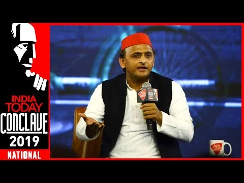 Akhilesh Yadav Exclusive On The Crucial Battle For UP At India Today Conclave 2019