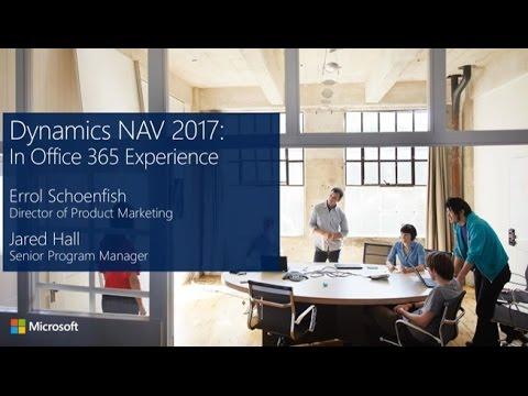 Dynamics NAV 2017, In Office 365 Experience