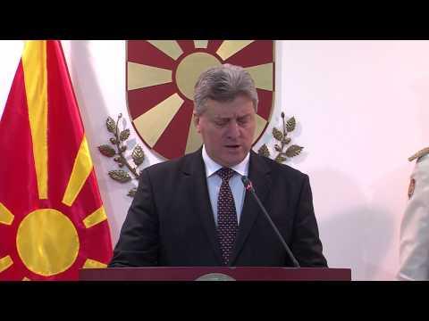 Изјава на претседателот на Република Македонија, Ѓорге Иванов