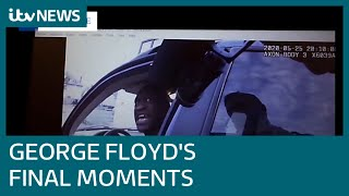 Leaked bodycam footage shows the 18 minutes of panic leading up to George Floyd's death | ITV News