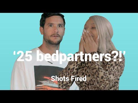 Durven LATIFAH & KRIS KROSS deze PITTIGE VRAGEN te beantwoorden?! | Shots Fired