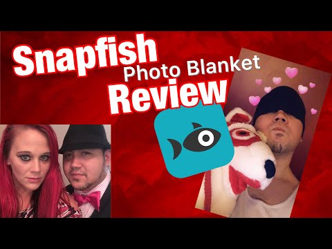 Snapfish Review - Photo Blanket - Steph And Mannie