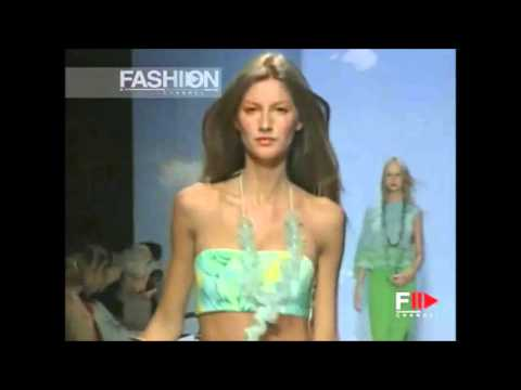 Gisele Bundchen   Oscar de la Renta Spring Summer 2000
