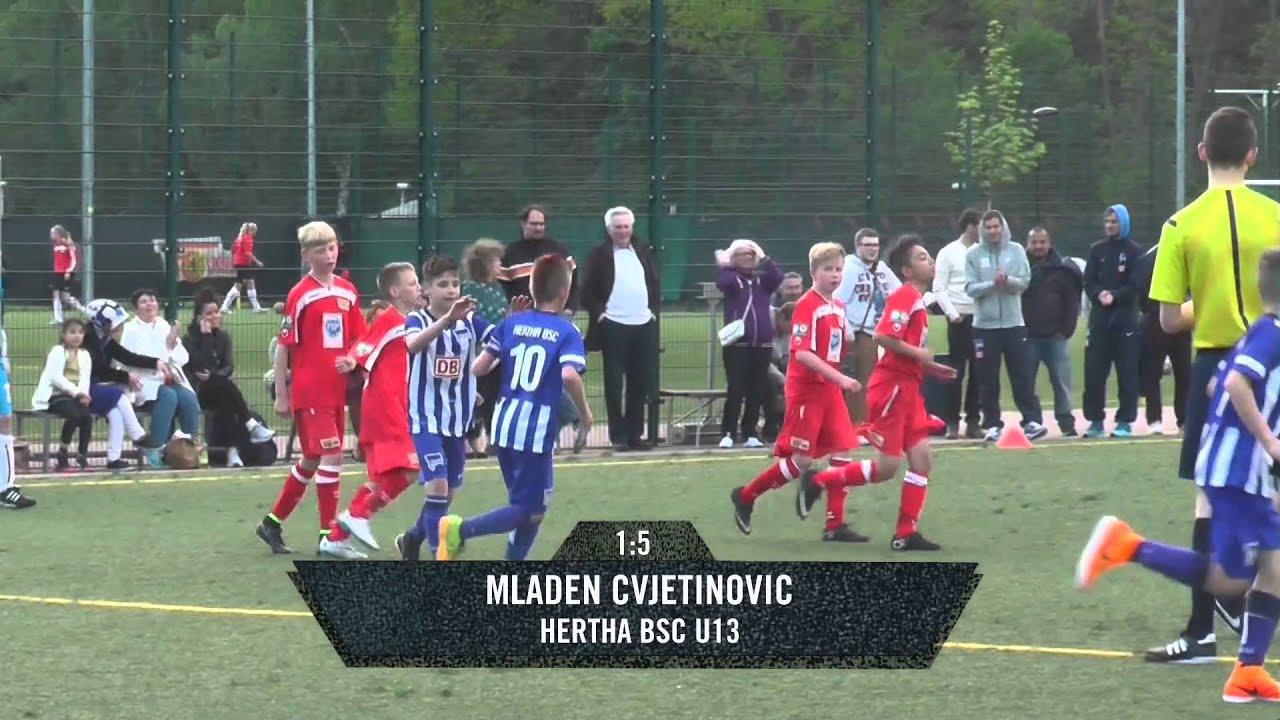1 Fc Union Hertha Bsc U13 D Jugend Spielszenen D Jugend Verbandsl St 1 Spreekick Tv