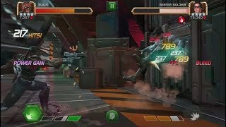 Rank 5 Blade VS Realm Of Legends Winter Soldier - Marvel Contest Of Champions
