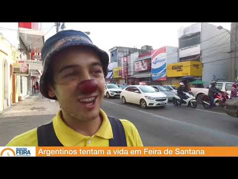 Argentinos tentam a vida em Feira de Santana