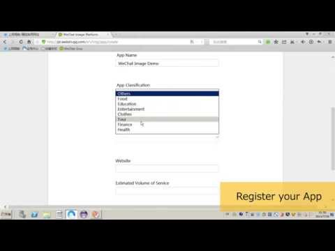 Video Tutorial for Developer Registration