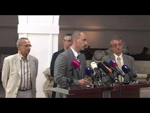 Tisková konference po jednání poslaneckého klubu ODS 18.6.2013