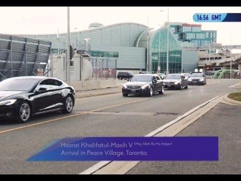 Khalifa of Islam: Canada Tour 2016 | Part 1 - Islam Ahmadiyya