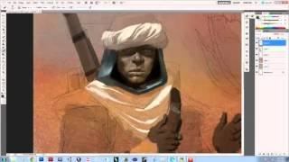 Desert Nomad Concept painting