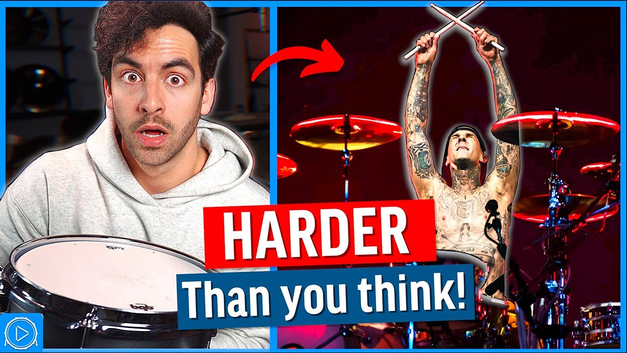 Why THIS Travis Barker Groove Is SO HARD (5 Tricks)