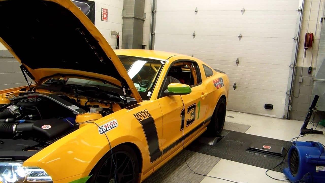 Dyno Tuning Joe Elchaar's Mustang Boss 302