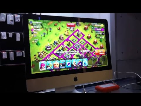 How to play clash of clans on a mac No genymotion