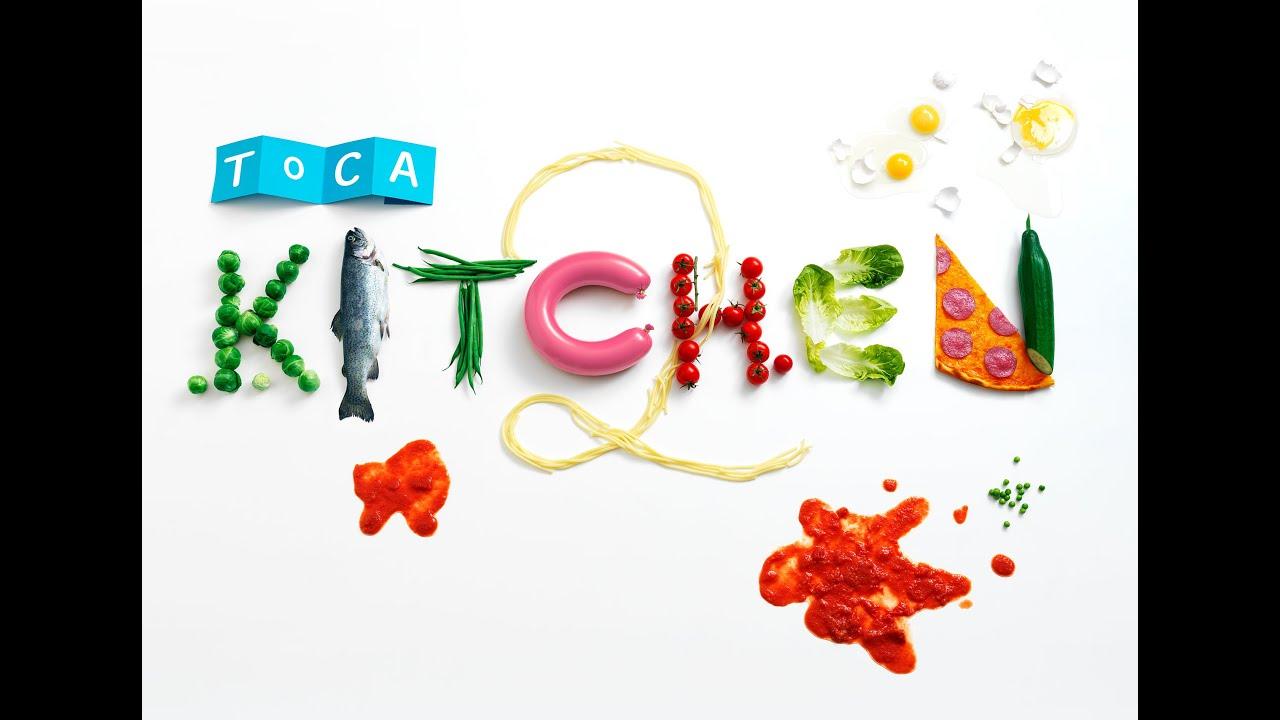 Toca Kitchen 2 Part 1 - iPad app demo for kids - Ellie - YouTube