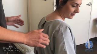 BACK SPASMS, Low Back Pain, Antalgic Posture - HELPED with Dr. Rahim Gonstead Chiropractor