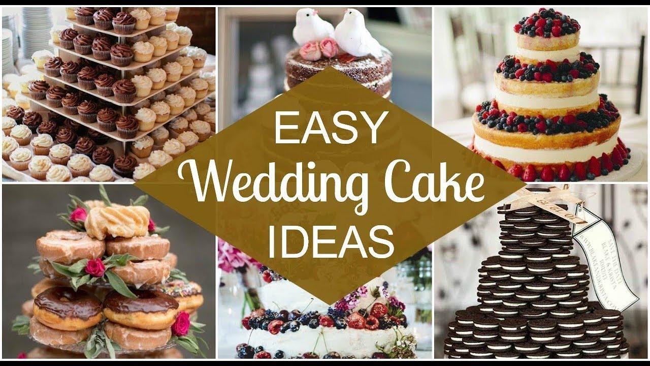 Easy DIY Wedding Cake Ideas - GORGEOUS! - YouTube