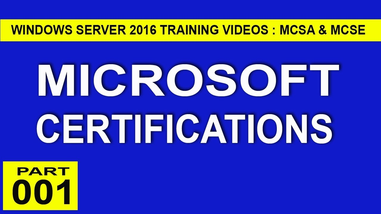 001 Windows Server 2016 Tutorial For Beginners Microsoft