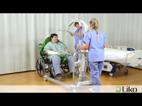 Hill-Rom   Liko® Lifts & Slings   Transfer From Chair To Bed (Bariatric)