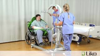 Hill-Rom | Liko® Lifts & Slings | Transfer from Chair to Bed (Bariatric)