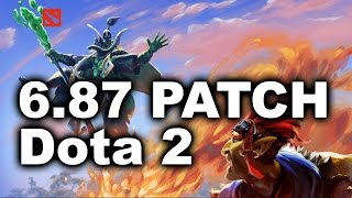 6.87 Dota 2 - New Patch Biggest Changes + Bananas!