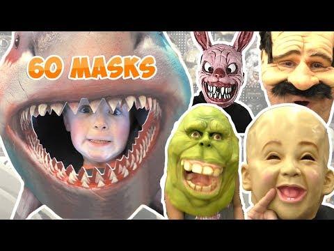 2019 Spirit Halloween Mask Show