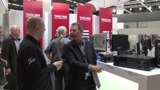 Musikmesse 2017 TASCAM CD-A580…