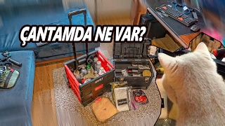 Çantamda Ne Var? Temizlik ve Detay ürünlerimi açıklıyorum Vlog 57
