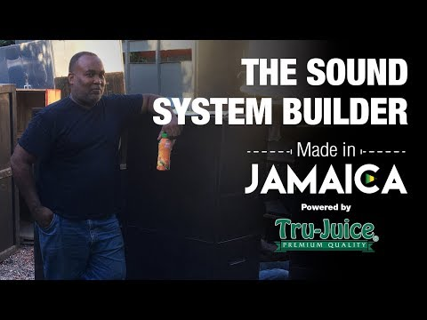 Made in Jamaica Ep7: Tony The Jamaican Sound System Builder