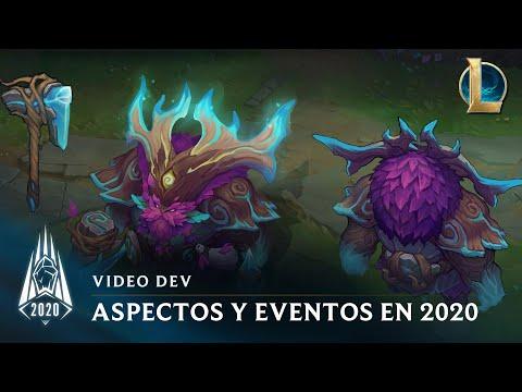 Aspectos y eventos de la temporada 2020   Video dev - League of Legends