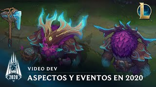 Aspectos y eventos de la temporada 2020 | Video dev - League of Legends