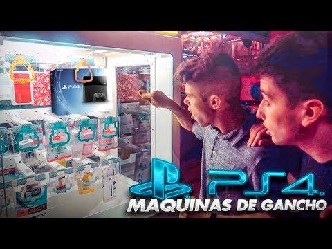 ¿CONSEGUIMOS una PS4 en UNA MAQUINA DE GANCHO? [Dualcoc]
