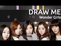 원더걸스(Wonder Girls) - 그려줘(DRAW ME) - Piano Tutorial - How To Play