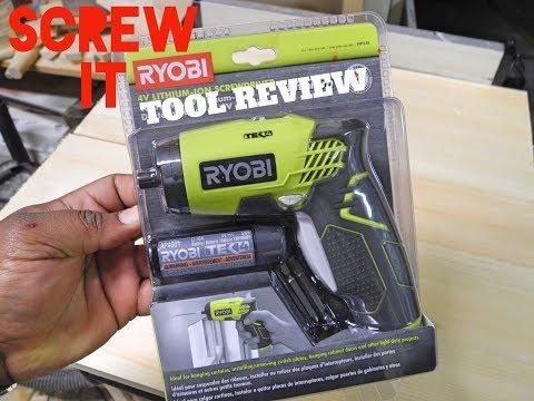 SCREW IT! Ryobi 4V Lithium Battery Review